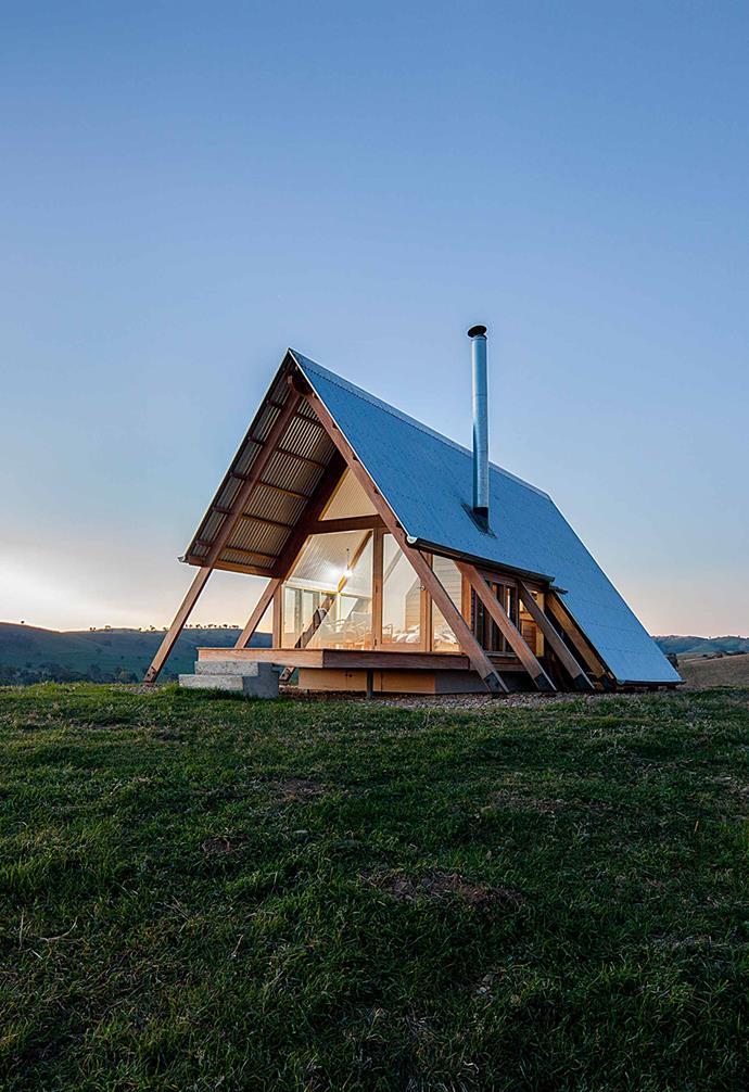 ">> This luxury [Kimo Estate cabin in Gundagai](https://www.homestolove.com.au/luxury-cabin-kimo-estate-20244 target=""_blank"") is the perfect eco-friendly retreat."