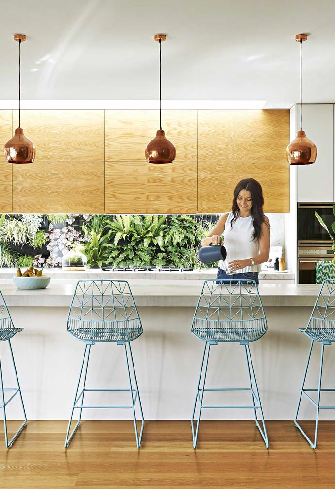 """This creative couple undertook the complete renovation of their [Californian bungalow in Melbourne](https://www.homestolove.com.au/family-friendly-californian-bungalow-18198