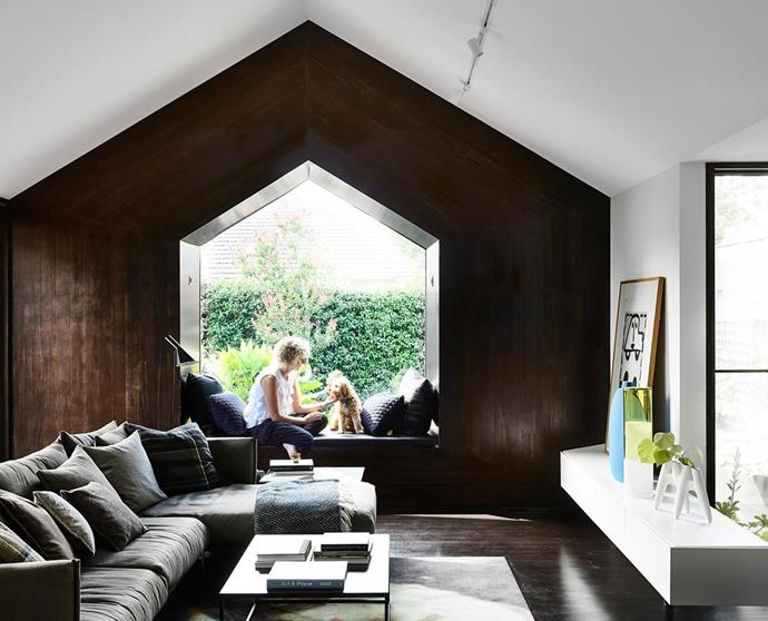 "Architect Fiona Dutt purchased this [Californian bungalow](https://www.homestolove.com.au/california-bungalow-revamped-with-a-contemporary-extension-6773|target=""_blank"") in Melbourne's south-east and transformed it into a contemporary oasis. By extending the property, [enlarging windows](https://www.homestolove.com.au/open-plan-window-ideas-19465