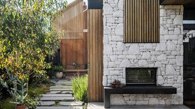 An evergreen garden in Melbourne built for year-round living