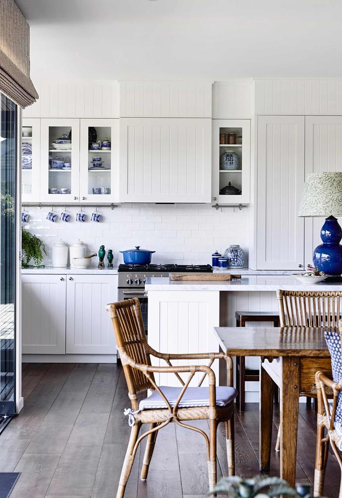"Wider timber floorboards have the ability to help a room seem larger and are an ideal choice when aiming to maximise space. In this [coastal home on the Mornington Peninsula](https://www.homestolove.com.au/10-steps-to-coastal-style-4398|target=""_blank"") a subtle grey-brown tone was chosen to complement its natural surrounds."