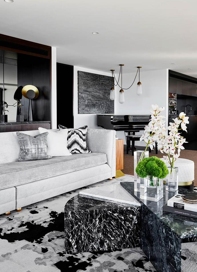 "Poco Designs' Poppy and Charlotte O'Neil created a [luxe Sydney apartment](https://www.homestolove.com.au/a-luxe-sydney-apartment-with-bespoke-interiors-19676|target=""_blank"") which has a contemporary feel, balanced by natural materials and textures."