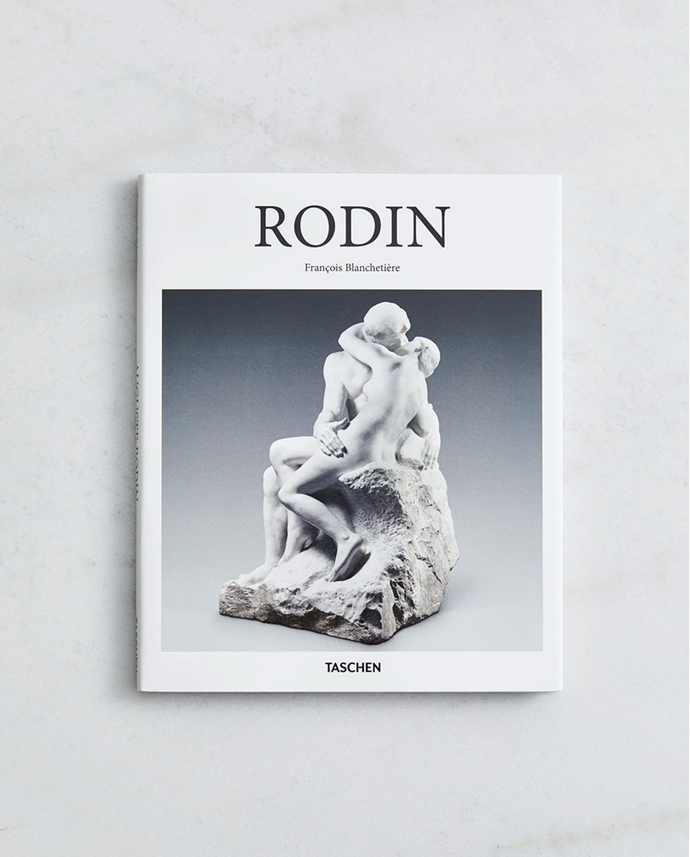 "Rodin (Taschen's Basic Art Series 2.0) by François Blanchetière, $25, from [Bed Threads](https://bedthreads.com.au/collections/homewares/products/rodin-taschen-s-basic-art-series-2-0-by-francois-blanchetiere|target=""_blank"")."