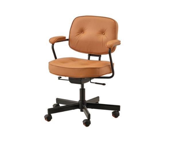 "Alegjäll office chair, $299, [Ikea](https://www.ikea.com/au/en/p/alefjaell-office-chair-grann-golden-brown-20419983/|target=""_blank""|rel=""nofollow"")"