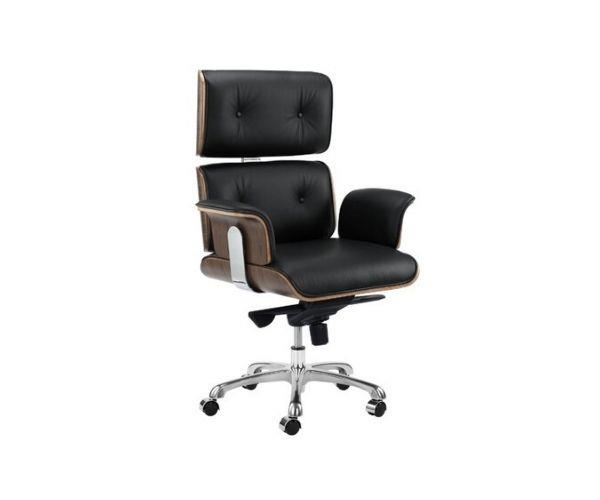 """Milan Direct Eames premium leather replica executive office chair, $549, [Temple & Webster](https://www.templeandwebster.com.au/Eames-Premium-Replica-Executive-Office-Chair-YSELOBKL-TPWT1278.html
