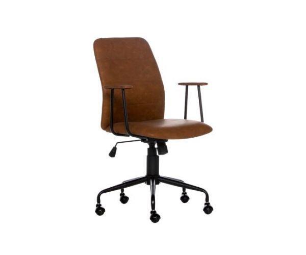 "Oren office chair PU in vintage tan, $169, [Freedom](https://www.freedom.com.au/storage/home-office/all-home-office/24132121/oren-office-chair-pu-vintage-tan|target=""_blank""|rel=""nofollow"")"