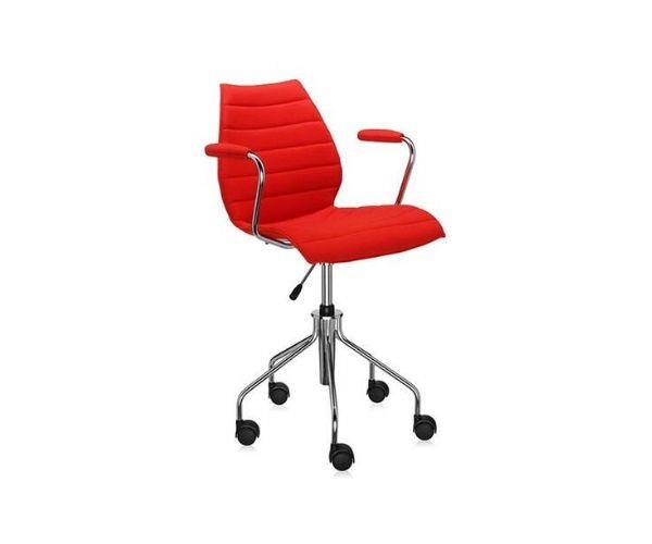 """Kartell Maui soft swivel chair, $1200, [Space](https://www.spacefurniture.com.au/products/kartell-maui-soft-office-chair