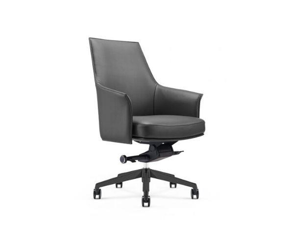 """Roma desk chair, $895, [Domo Furniture](https://www.domo.com.au/product/roma-desk-chair/