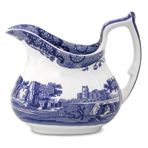 "Spode Blue Italian Cream Jug, $59, [Peters of Kensington](https://www.petersofkensington.com.au/Public/Spode-Blue-Italian-Cream-Jug.aspx|target=""_blank"")."