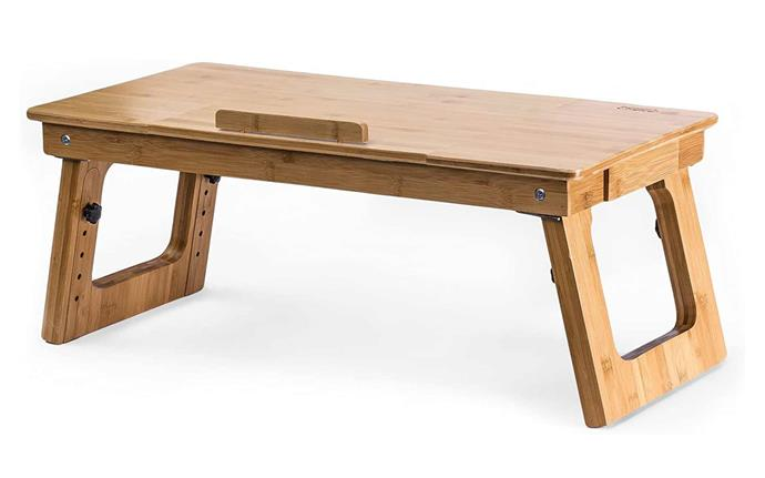 """**[Prosumer's choice eco-friendly bamboo sitting to standing desk converter for laptops or desktop, $78.98, Amazon Australia](https://www.amazon.com.au/Prosumers-Choice-Eco-Friendly-Converter-Adjustable/dp/B01N01A5J2/