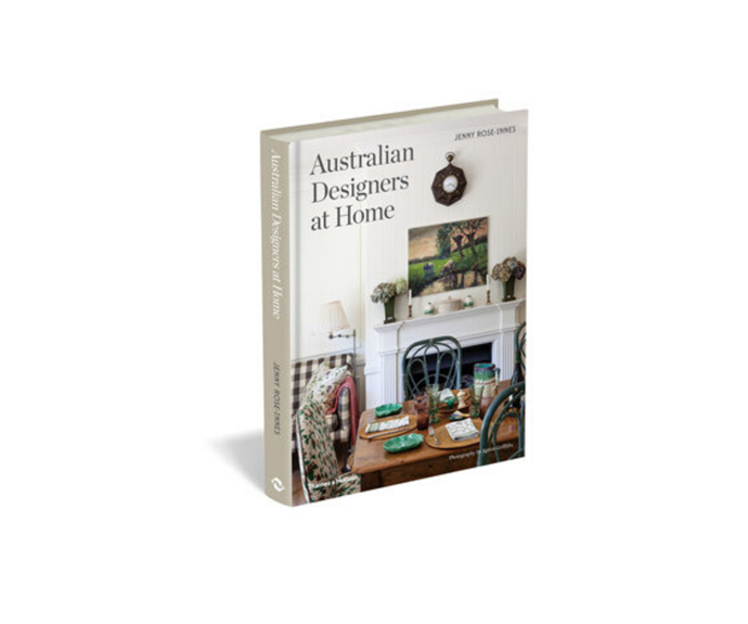 "[**Australian Designers at Home**](https://www.booktopia.com.au/australian-designers-at-home-jenny-rose-innes/book/9781760760137.html|target=""_blank""). Take a peak into the homes of 20 of the country's leading interior designers in the unfiltered but beautiful pages of Australian Designers at Home. *Jenny Rose-Innes, $60*"