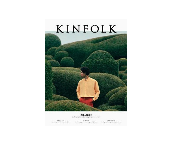 "[**Kinfolk Volume 35**](https://www.booktopia.com.au/kinfolk-volume-35-kinfolk/book/9781941815397.html|target=""_blank""). The latest issue of Kinfolk considers how we navigate change with stable and sustainable living. A lesson we could all do with right now. *Kinfolk $42*"