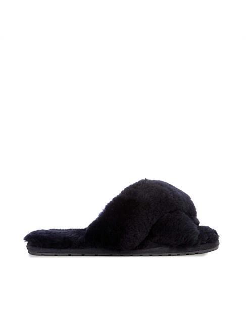 "Mayberry Slipper in Black, $59.95, [Emu Australia](https://www.emuaustralia.com.au/all-footwear/mayberry/W11573.html?gclid=CjwKCAjw3-bzBRBhEiwAgnnLCq-XHxE85UkCCoV3Cf-tfKesj2E_Tqr4CgzaKJPTMU01N4shjqMSQxoCsMAQAvD_BwE|target=""_blank"")"