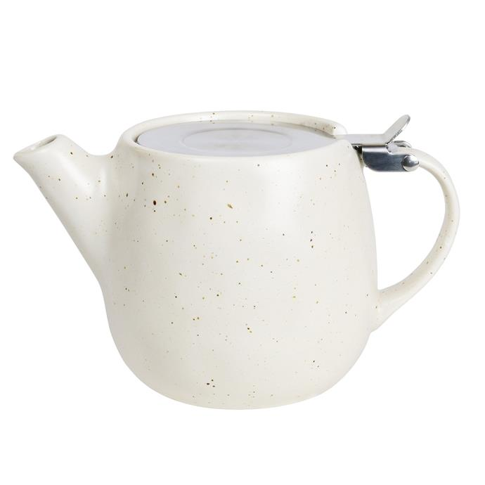 "Earth Teapot in Natural, $39, [Robert Gordon](https://www.robertgordonaustralia.com/products/earth-teapot-natural?_pos=2&_sid=5e89162ad&_ss=r|target=""_blank"")"