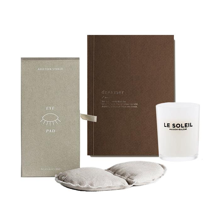"Dreamer Gift Set, $89.95, [An Organised Life](https://www.anorganisedlife.com/collections/gift-sets-bundles/products/dreamer-gift-set|target=""_blank"")"
