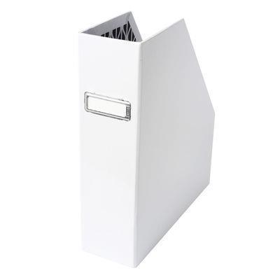"Magazine Holder Card in White, $12.95, [Kikki.K](https://www.kikki-k.com/au/stationery/home-office/magazine-holder-card-white-essentials-10205802.html?cgid=stationery-home_office|target=""_blank""|rel=""nofollow"")"