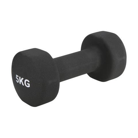 "5kg Dumbbell, $18.00, [Kmart](https://www.kmart.com.au/product/5kg-dumbbell/694803|target=""_blank""|rel=""nofollow"")"
