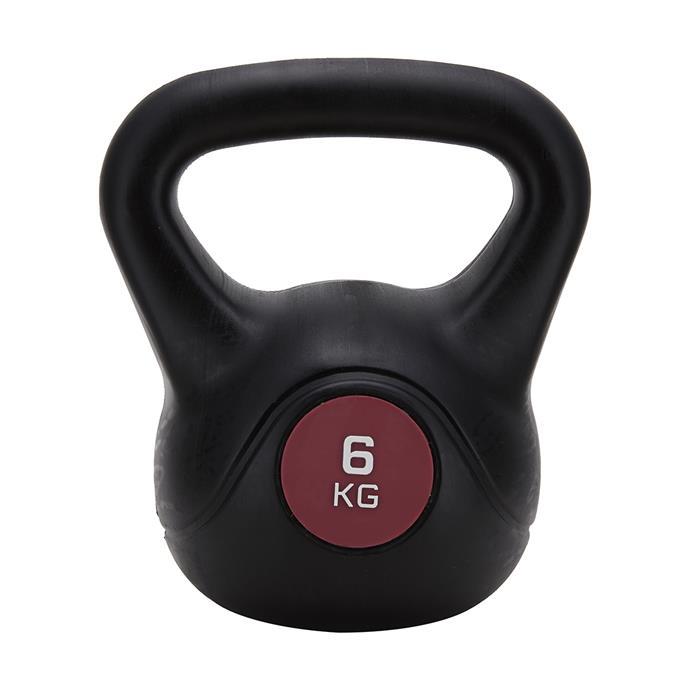 "Kettle Bell - 6kg, $8.50, [Kmart](https://www.kmart.com.au/product/kettle-bell---6kg/1936817|target=""_blank""|rel=""nofollow"")"