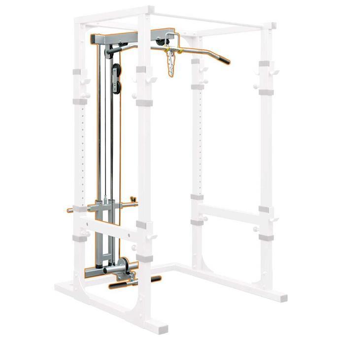 "Impulse Fitness Power Cage Lat Attachment, $399.00, [Rebel](https://www.rebelsport.com.au/p/impulse-fitness-power-cage-lat-attachment-390014.html?cgid=REB071301|target=""_blank""|rel=""nofollow"")"