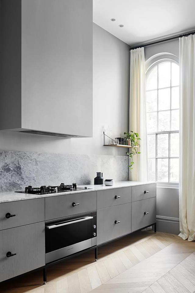 """Interior designer Sarah Wolfendale likes a compact, elegant space and she has achieved it in her [family home](https://www.homestolove.com.au/small-flat-revamp-19729