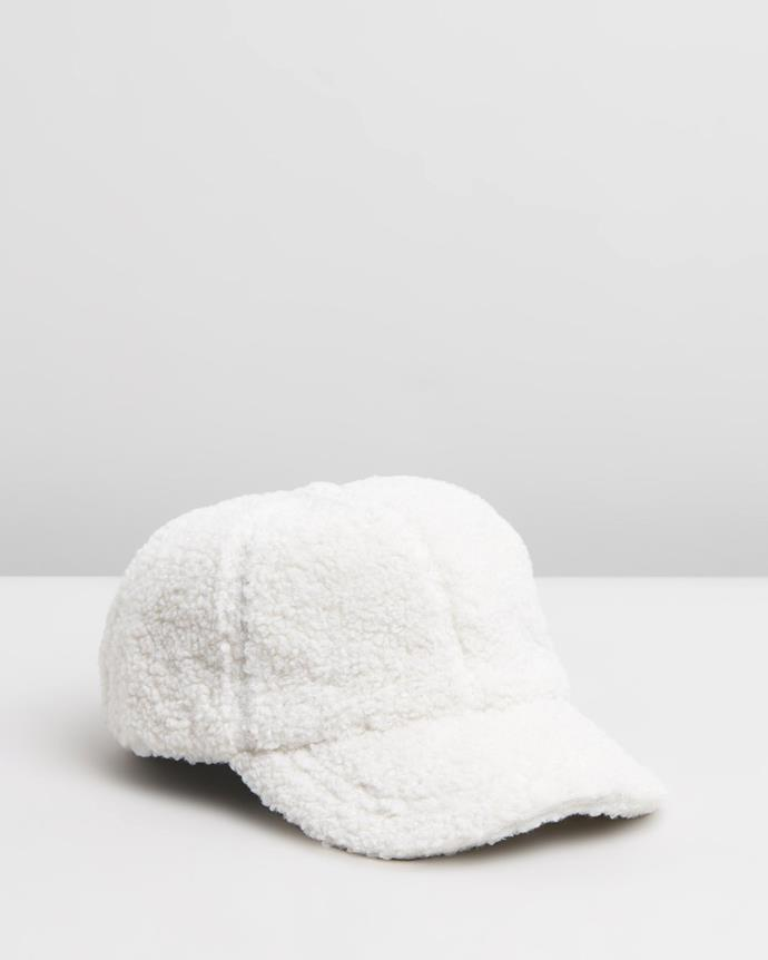 "Avenue Dowling Baseball Cap, $95.00, [The Iconic](https://www.theiconic.com.au/dowling-baseball-cap-828821.html|target=""_blank"")"