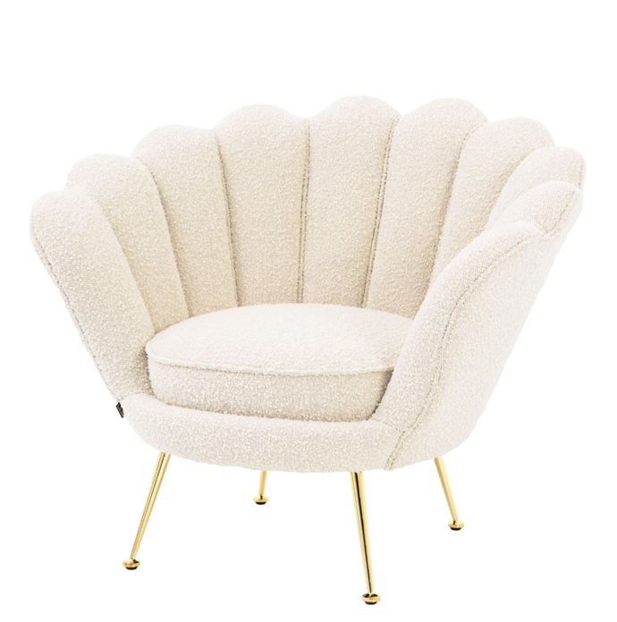 "Trapezium Boucle Armchair, $2,515, [James Said](https://www.jamessaid.com.au/trapezium-boucle-cream-armchair.html|target=""_blank""