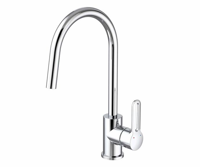 """Cirrus sink mixer in Chrome (4-star WELS rating), $217, [Caroma](https://www.caroma.com.au/