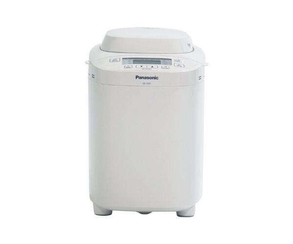 """[**Panasonic SD-2501, 1.2kg Bread Maker, $272, Appliances Online**](https://www.appliancesonline.com.au/product/panasonic-bread-maker-sd-2501 target=""""_blank"""" rel=""""nofollow"""")<br> Appliances Online say this compact bread maker by Panasonic is one of their best-selling small appliances. While it's very good at making bread loaves (you don't even need to use baking paper because the baking tin Diamond Fluoro coated) that's not all it can do. It can be used to make bread rolls, pizza dough and even homemade jam to spread on your freshly baked bread. Happy customers say they've been using their machine for upwards of 8 years and it's still going strong. If you love this machine but wish it came in a colour that suited your other kitchen appliances, try the [Panasonic Artisan Bread Maker in Black](https://www.myer.com.au/p/panasonic-artisan-hard-crust-bread-maker-sd-zp2000kst-black target=""""_blank"""" rel=""""nofollow"""")."""