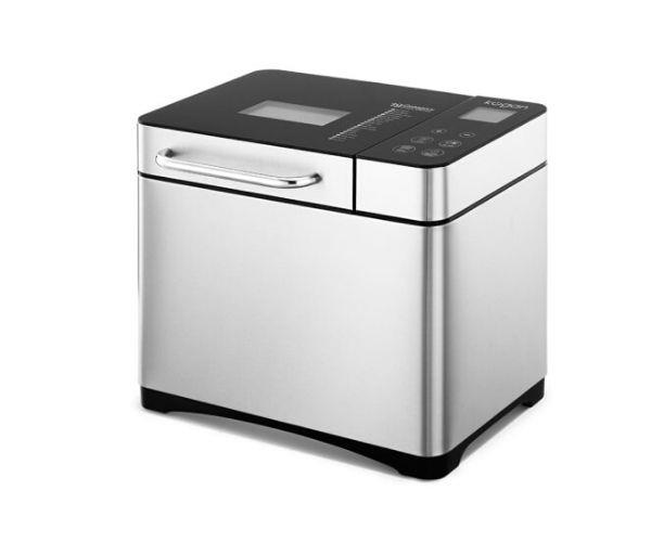 """[**Kogan 2.0L Premium Stainless Steel Bread Maker, $119, Kogan**](https://www.kogan.com/au/buy/kogan-20l-premium-stainless-steel-bread-maker/ target=""""_blank"""" rel=""""nofollow"""")<br> Making your own bread at home has always called for getting your hands dirty. Not anymore! All-in-one bread makers like this one from Kogan, do most of the work for you. All you need to do is carefully measure the ingredients, and place them into the baking tin provided. Then you just leave it to the machine to do the rest (yes, that includes the kneading, the resting and the baking). A timer function makes this unit particularly suited to those who want to rise to freshly baked bread in the morning."""