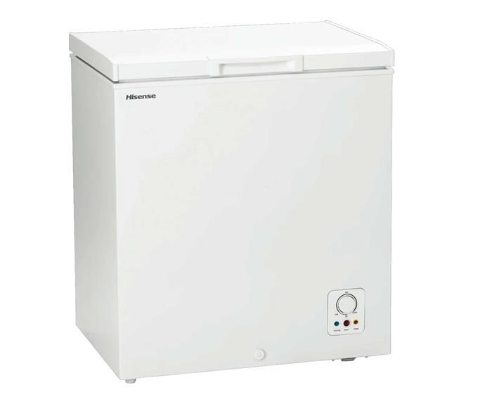 "Hisense 145L chest freezer, $288, [The Good Guys](https://www.thegoodguys.com.au/hisense-145l-chest-freezer-hr6cf146|target=""_blank""|rel=""nofollow"")."