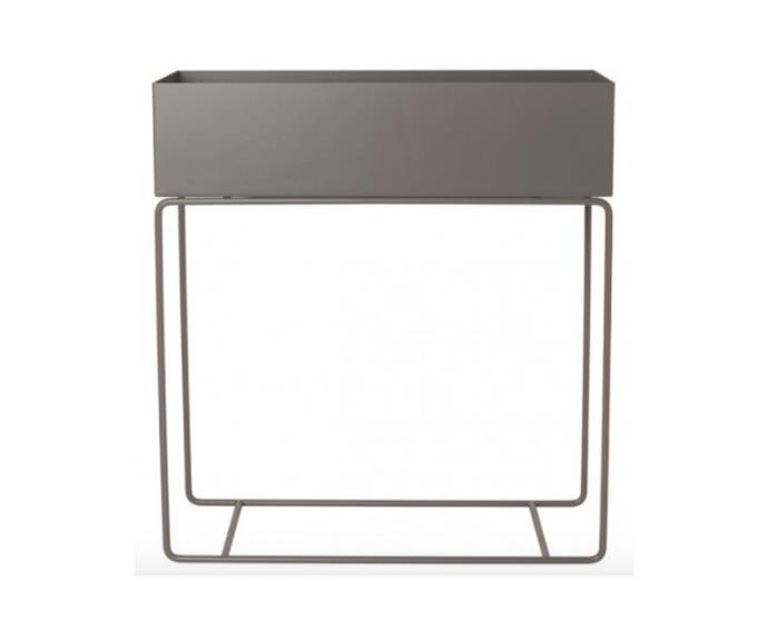 "ferm LIVING plant box, $429, [Design Stuff](https://www.designstuff.com.au/ferm-living-plant-box-warm-grey/|target=""_blank""|rel=""nofollow"")"