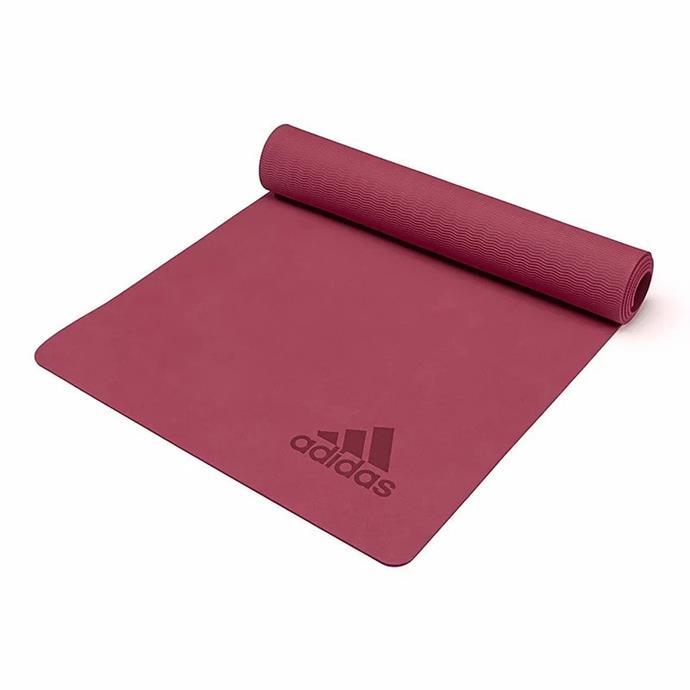 "[Adidas Premium Yoga Mat, $59](https://www.bunnings.com.au/adidas-premium-yoga-mat-5mm-exercise-training-floor-gym-fitness-judo-pilates_p0183970|target=""_blank""|rel=""nofollow"")"