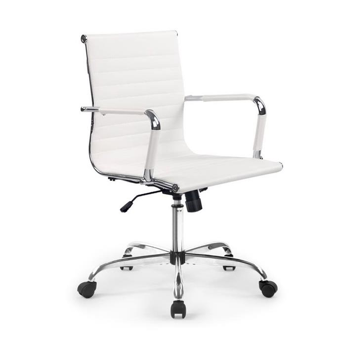"""[Artiss Eames Replica Office Chair Leather in White, $144.95](https://www.bunnings.com.au/artiss-eames-replica-office-chair-leather-executive-computer-desk-chairs-white_p0170847