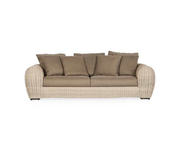 "Sollis outdoor sofa, $3300, [Coco Republic](https://www.cocorepublic.com.au/sollis-outdoor-sofa|target=""_blank""|rel=""nofollow"")"