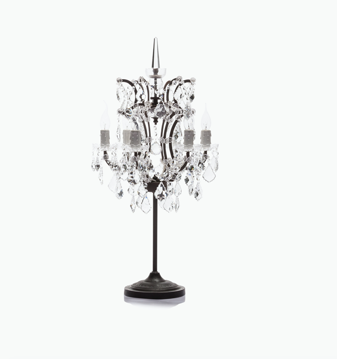 """Timothy Oulton Crystal Table Lamp, $1,995, [Coco Republic](https://www.cocorepublic.com.au/crystal-table-lamp