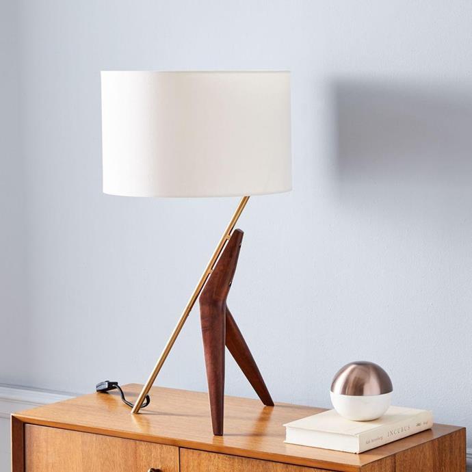 "Caldas Table Lamp, $186, [West Elm](https://www.westelm.com.au/caldas-table-lamp-h3122|target=""_blank""|rel=""nofollow"")"