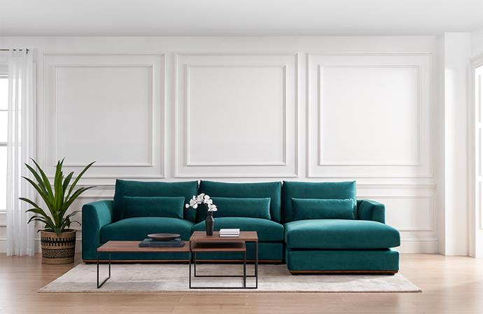 "Available in a range of rich-coloured fabrics, as well as velvet and custom-made options, [Castlery's Alfie sofa](https://www.castlery.com.au/collections/alfie-collection?utm_campaign=homestolove-apr2020&utm_source=homestolove.com.au&utm_medium=referral&utm_content=brandarticle|target=""_blank""