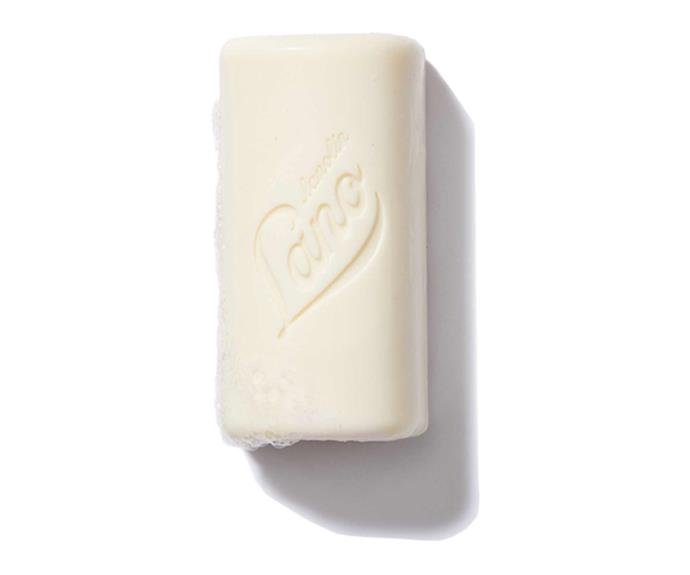 "Cleansing bar, $6, [Lanolips](https://lanolips.com.au/products/cleansing-bar?_pos=1&_sid=cd38b96f8&_ss=r|target=""_blank""