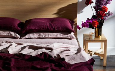 14 luxe linen buys to cosy up your home