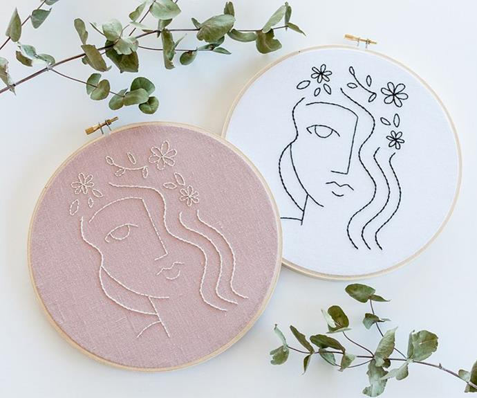 "Brynn & Co embroidery kits, from $45, [Biome](https://www.biome.com.au/1600_brynn-co|target=""_blank""