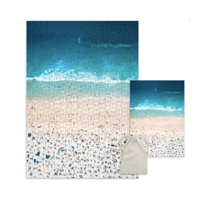 "Bondi Beach jigsaw puzzle, $54, [Australia Unseen](https://australiaunseen.com/collections/jigsaw-puzzles/products/bondi-beach-jigsaw-puzzle|target=""_blank""