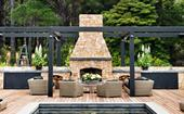 21 of the best outdoor fireplace ideas for your backyard