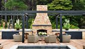 15 of the best outdoor fireplace ideas for your backyard