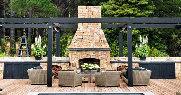 15 Best Outdoor Fireplace Ideas For Your Backyard Homes To Love