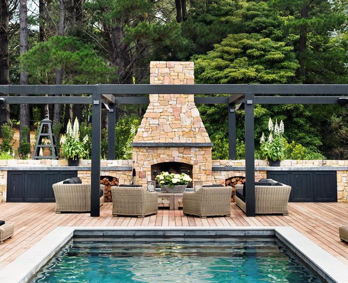 18 of the best outdoor fireplace ideas for your backyard