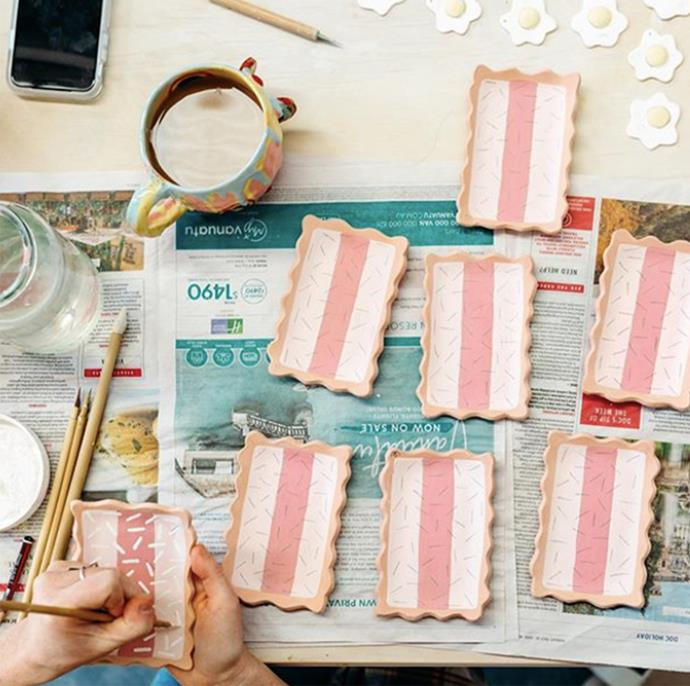 "Iced Vovo Home Painting Kit, $45, [Bonnie Hislop](https://www.bonniehislop.com/shop-1/home-painting-kit-iced-vovo-kit|target=""_blank""