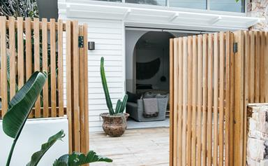 Kyal and Kara create the ultimate guest house in their own backyard