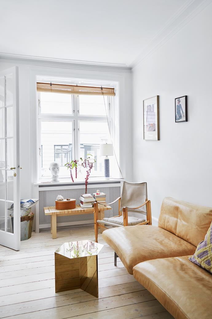 """Cecilie says she doesn't decide on a room's [colour scheme](https://www.homestolove.com.au/scandinavian-style-colour-scheme-6957