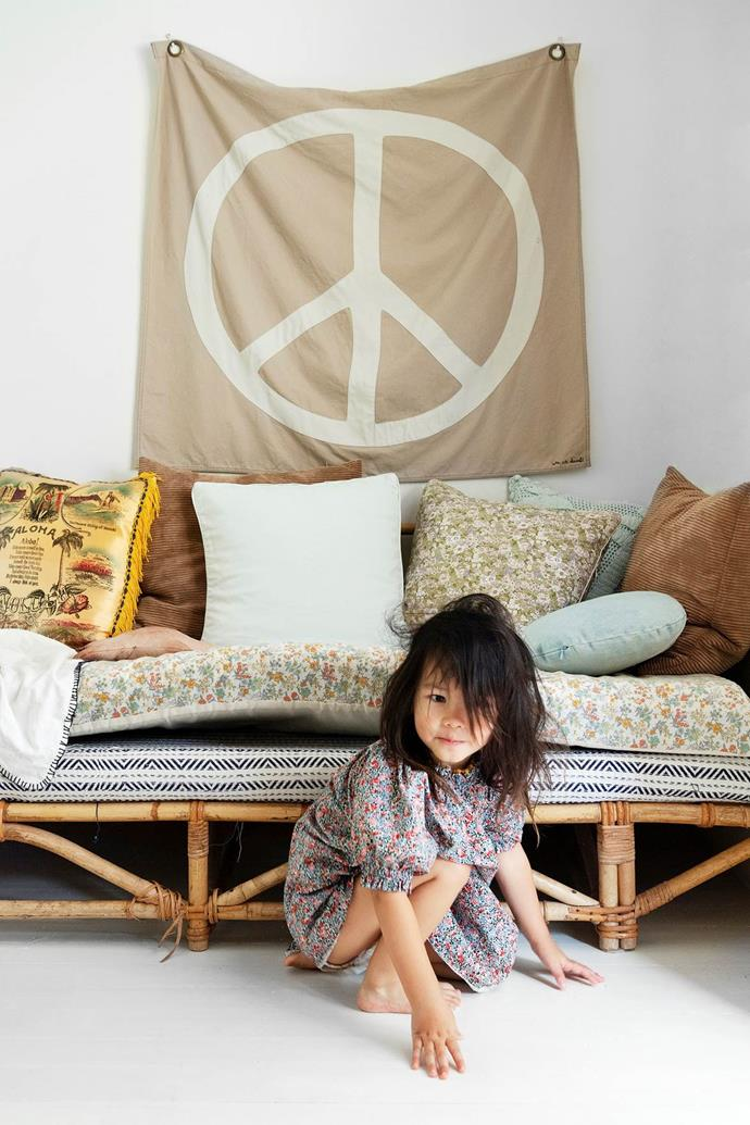 """Daybeds don't have to be built in, this simple [cane](https://www.homestolove.com.au/decorating-with-cane-and-wicker-furniture-4593