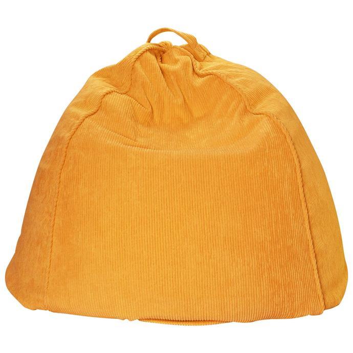 "'Goldie' cord beanbag, $149, [Kip&Co](https://kipandco.com.au/collections/beanbags/products/goldie-cord-beanbag|target=""_blank""|rel=""nofollow"")"